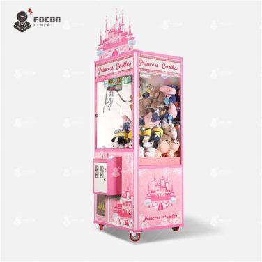 Focon Pink style crane claw toy game machine