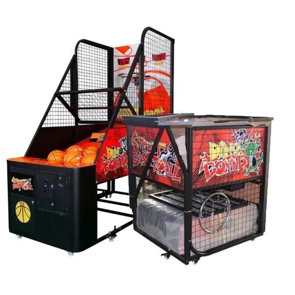 Indoor Amusement Foldable Street Basketball Sports Game Machine
