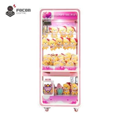 Focon Original Claw Prize Vending Machine Transparent Style FCM-001