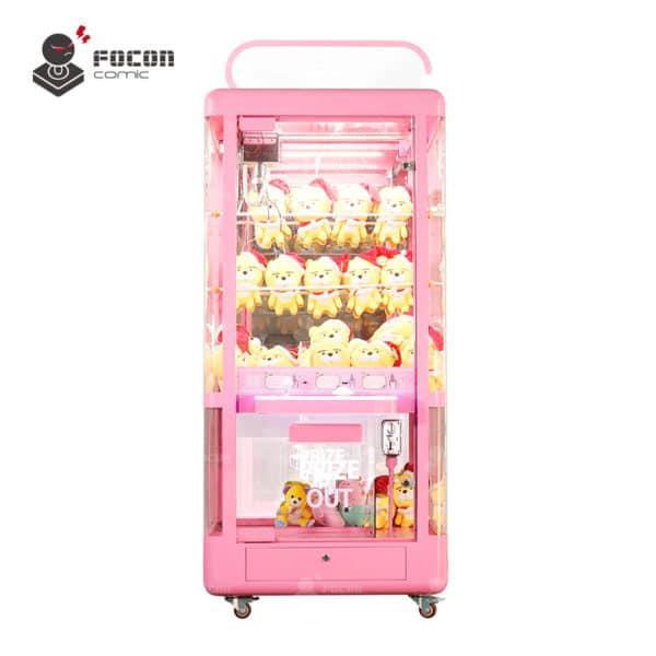 Focon Original Claw Prize Vending Machine Transparent Style FCM-003