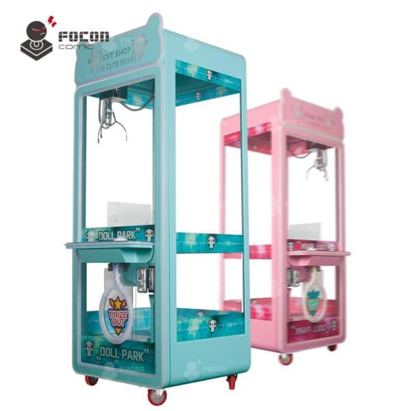 Focon Original Claw Prize Vending Machine Transparent Style FCM-002
